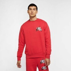 Bluza dresowa Air Jordan Jumpman Fleece czerwona - CK6763-687