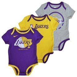 Body dziecięce NBA Los Angeles Lakers 3PAK - EZ2N1BBMK-LAK