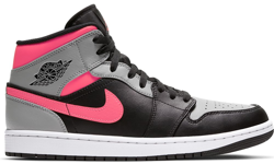 Buty Air Jordan 1 Mid Pink Shadow - 554724-059