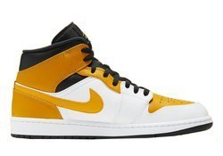 Buty Air Jordan 1 Mid University Gold - 554724-170