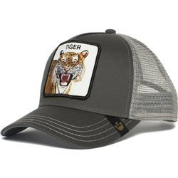 Czapka z daszkiem Goorin Bros. Eye Of The Tiger Trucker Grey - 101-0335
