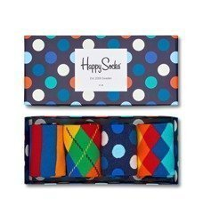 Giftbox 4-pack Skarpety Happy Socks XMIX09-6000