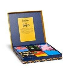 Giftbox skarpety 6-pack Happy Socks The Beatles - XBEA10-2000