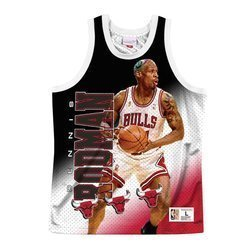 Koszulka Mitchell & Ness NBA Behind The Back Chicago Bulls - Dennis Rodman