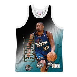 Koszulka Mitchell & Ness NBA Behind The Back Tank Detroit Pistons - Grant Hill