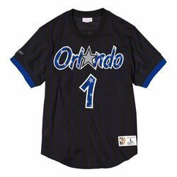 Koszulka Mitchell & Ness NBA Orlando Magic Penny Hardaway Name & Number Mesh - NNMPMG18062-OMABLCK94PHA