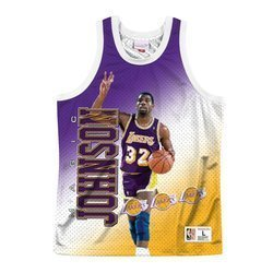 Koszulka Mitchell & Ness NBA Tank Los Angeles Lakers - Magic Johnson