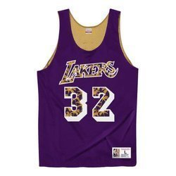 Koszulka Mitchell & Ness Reversible Mesh Tank Lakers 92 Magic Johnson