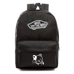 Plecak VANS Realm Backpack - VN0A3UI6BLK - Custom Cat