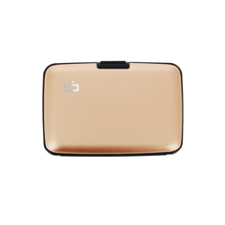 Portfel Aluminiowy Ogon Designs Stockholm Rose Gold RFID protect