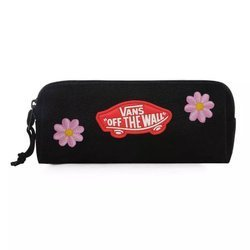 Saszetka Piórnik do szkoły Vans OTW Pencil Pouch Black Custom Flowers