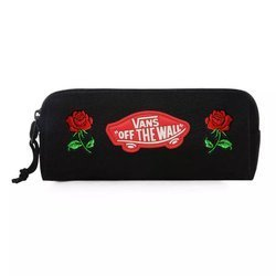 Saszetka Piórnik do szkoły Vans OTW Pencil Pouch Black Custom Roses