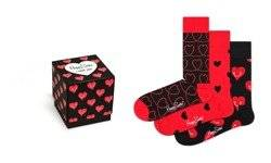 Skarpetki Happy Socks (3-PAK) I Love You Gift Box - XLOV08-4300