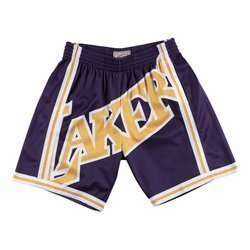 Spodenki Mitchell & Ness NBA Big Face Short Lakers 96-97 - SHORBW19069-LALPURP96