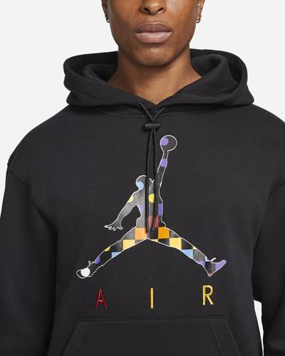 Bluza z kapturem Air Jordan AJ3 Graphic Fleece Black - DD5244-010