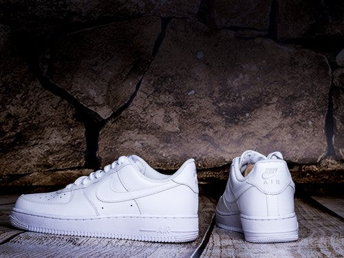 Buty Nike WMNS Air Force 1 Low All White - 315115-112