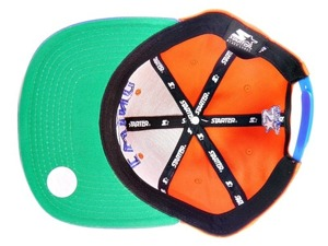 Czapka NBA Starter Patrick EWING Snapback  New York Knicks ORANGE