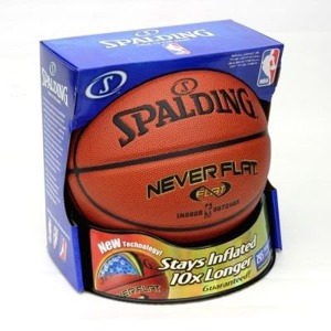 Piłka do kosza Spalding NBA NeverFlat indoor/outdoor - 3001530010017