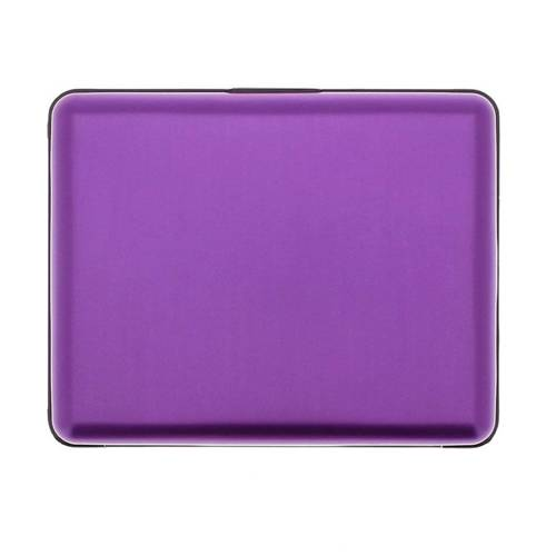 Portfel Aluminiowy Ogon Designs Big Stockholm Purple - BS Purple RFID protect